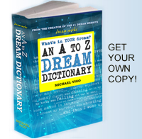 Dream Moods Book, a to z dream dictionary, dream meanings, dream guide, order book